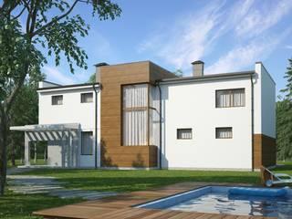 Гатри_320м2: Дома в . Автор – Vesco Construction