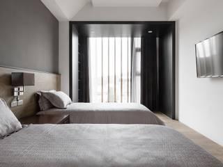 沃思文化 / 林毅璋建築師事務所 + 乘四研究所 Dormitorios de estilo moderno
