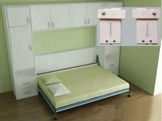 Giường ngủ thông minh Phòng ngủ phong cách hiện đại bởi Công ty CP Đầu tư & Thương mại Tân Kỷ Nguyên Hiện đại