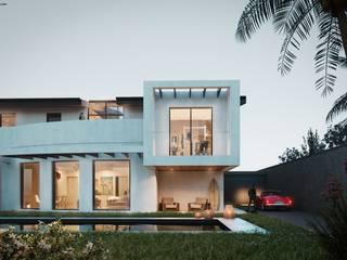 Nuova abitazione unifamiliare di AR.IN. Studio - Progettazione e Servizi per l'Ingegneria e l'Architettura Moderno