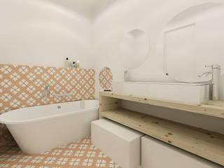 A Casa da Sara e do Tomás: Casas de banho escandinavas por Homestories