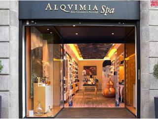Alma Retail Services Kantor & Toko Gaya Eklektik