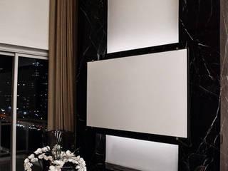 EDSON 640: Salas de estar  por BSK Studio,Moderno