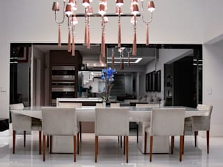 EDSON 640 Salas de jantar modernas por BSK Studio Moderno