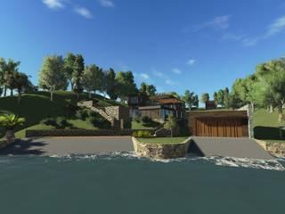 Casa EFZ 02: Casas unifamiliares de estilo  por Sotomayor & Asociados