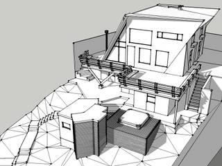 Casa  JPS Farellones 02: Casas unifamiliares de estilo  por Sotomayor & Asociados