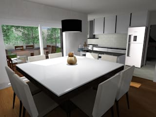 Modern kitchen by JVG Arquitectura Modern