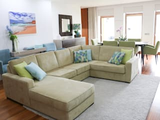 Surfer Colors living room Salas de estar modernas por Perfect Home Interiors Moderno