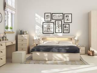Mẫu thiết kế nội thất phòng ngủ hiện đại cao cấp: hiện đại  by Thương hiệu Nội Thất Hoàn Mỹ, Hiện đại