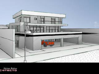 R7 Garagens e edículas modernas por Arquitetura M - Arquitetura e Engenharia Moderno