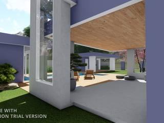 Arquitetura M - Arquitetura e Engenharia Piscinas de estilo moderno
