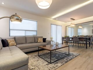 Modern living room by ESTUDIO TANGUMA Modern