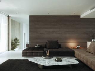 SALA: Salas de estilo  por CIC ARQUITECTOS