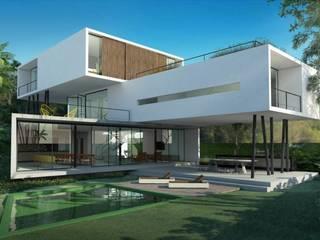 Casa container Edifícios comerciais modernos por Engenharia expressa Moderno