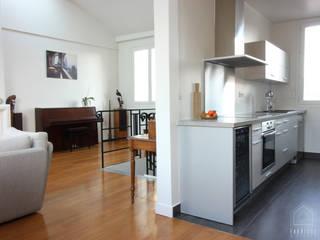 Duplex Paris 14 par FABRIQUE D'ESPACE Moderne