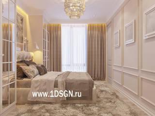 classic Bedroom by Дизайн студия 'Дизайнер интерьера № 1'