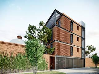 Casas multifamiliares de estilo  por SUR arquitectura