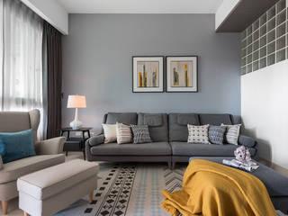 Salas de estar modernas por 知域設計 Moderno