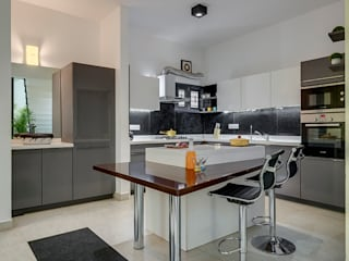 Kitchen Interior Design Ashwin Architects In Bangalore 現代廚房設計點子、靈感&圖片