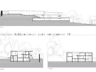 Complexo habitacional para emigrantes, Lisboa, Portugal por Tânia Pereira