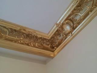 Художник декоратор ห้องนั่งเล่นของตกแต่งและอุปกรณ์จิปาถะ เงิน/ทอง Amber/Gold