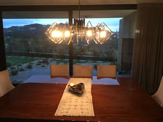 salas de Jantar com glamour Alpha Details Salas de jantar modernas