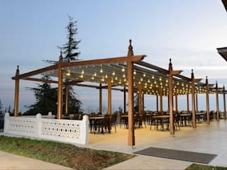 PERGOLA A.Ş. Shopping Centres Wood Wood effect