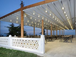 PERGOLA A.Ş. Commercial Spaces Wood Wood effect