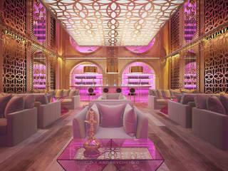 Lounge bar Бары и клубы в эклектичном стиле от Андрейченко Анжеликa Эклектичный