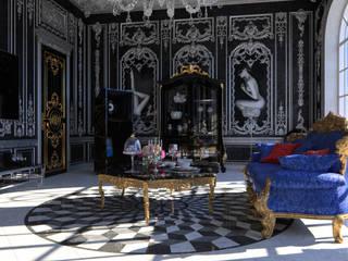 Neobarocco Гостиная в классическом стиле от SVPREMVS Классический