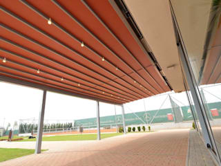 Açılır Kapanır Pergola Sistemleri Modern Oteller PERGOLA A.Ş. Modern