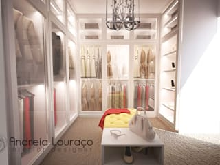 Andreia Louraço - Designer de Interiores (Email: andreialouraco@gmail.com) Closets de estilo moderno