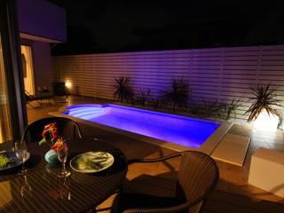 プールのある家: PROSPERDESIGN ARCHITECT OFFICE/プロスパーデザインが手掛けた家庭用プールです。