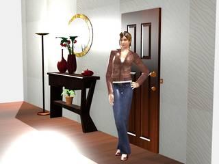 Diseño de mobiliario de Estudio Carmesí. Diseño y Decoración Moderno
