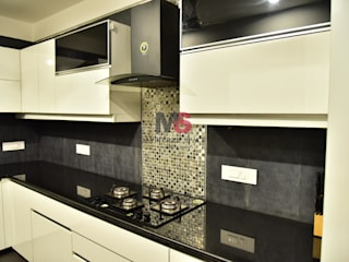 Interior:  Kitchen by Matter Of Space Pvt. Ltd.