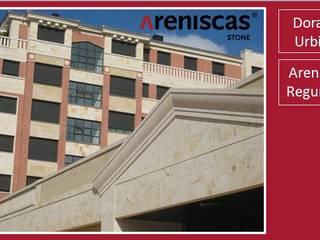 ARENISCAS STONE Complesso d'uffici in stile classico Calcare Beige