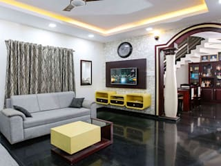 Monnaie Interiors Pvt Ltd Living roomAccessories & decoration