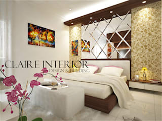 Modern Bedroom by Claire Interior Design & Building Modern