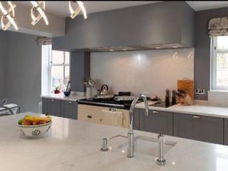 REMODELLED KITCHEN:  Kitchen by NO4 DESIGN STUDIO