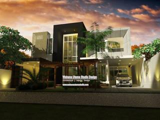 Desain Rumah Bapak Muhamad Syaihun Di Jakarta Oleh Wahana Utama Studio