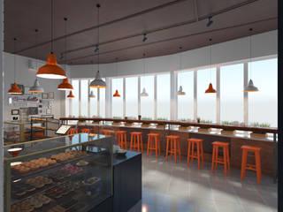 Кафе Мой Кофе: Бары и клубы в . Автор – Anastasia Yakovleva design studio