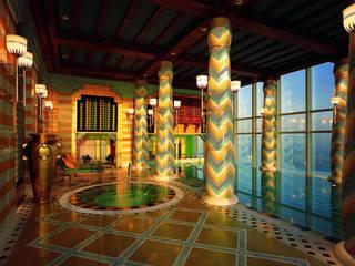 Luxe Dubai hotel:  Turks stoombad door Cleopatra BV
