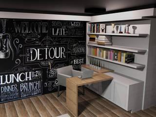 DIAS 323 Escritórios modernos por BSK Studio Moderno