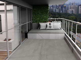 DIAS 323: Terraços  por BSK Studio,Moderno