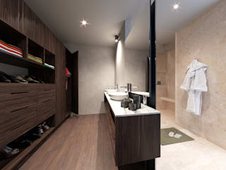 Modern Bathroom by CIC ARQUITECTOS Modern