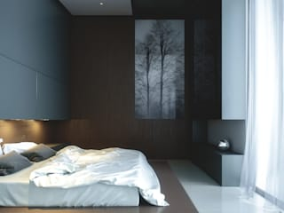 Modern Bedroom by CIC ARQUITECTOS Modern