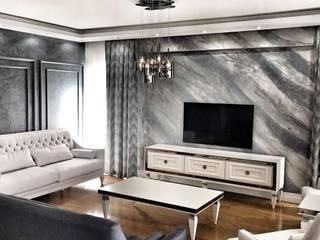Stucco Veneziano İtalyan Boya Uygulaması Modern Duvar & Zemin Ferah Mekan Dekor Modern
