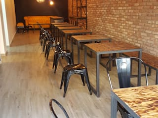 RESTAURANTE ZAPATA 7 | CDMX Gastronomía de estilo moderno de SHMN ARQUITECTURA Moderno