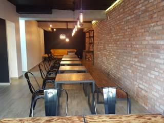 RESTAURANTE ZAPATA 7 | CDMX: Restaurantes de estilo  por SHMN ARQUITECTURA