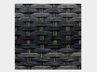 Reposera Rattan sin Brazos Negro Mixto:  de estilo  por Afuera Diseño
